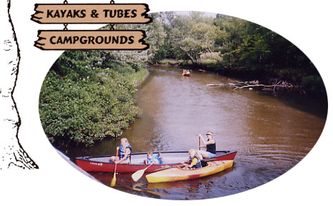 White Birch Canoe Trips and Campground on the Muskegon River