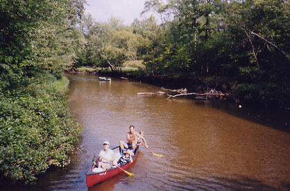 Canoe the Muskegon River with White Birch Canoe Trips